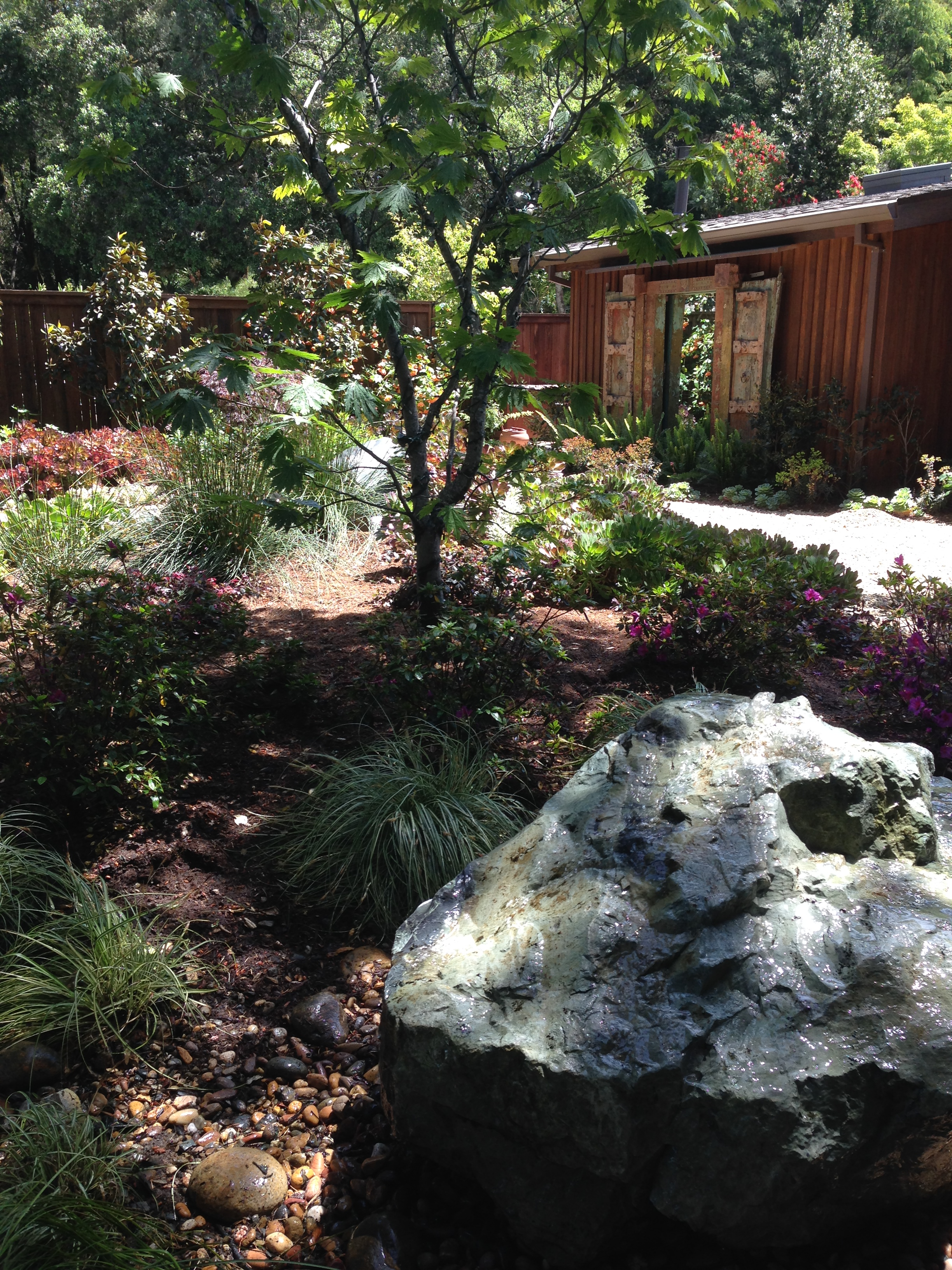 at home nursing healing neumann generations for water the garden courtyard fountain features st design john sitting gardens by img in